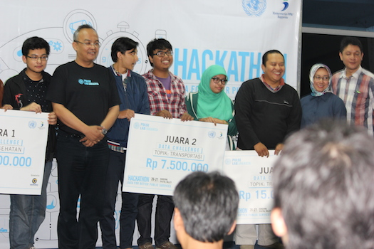 """""""Data For Better Public Services"""" Seminar & Hackathon hosted by Pulse Lab Jakarta 2"""