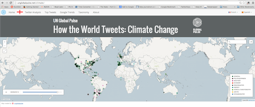 Using big data to take the pulse on climate change 1