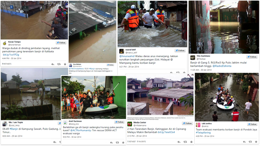 Using twitter to get ground truth on floods: an interview with Floodtags founder Jurjen Wagemaker 2