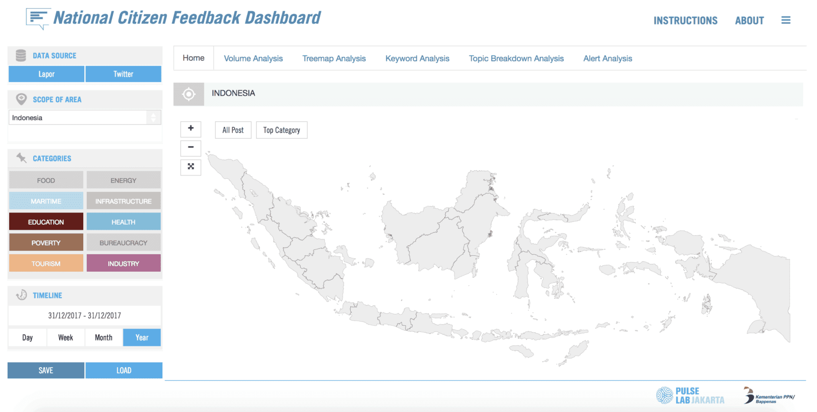National Citizen Feedback Dashboard for Enhanced Local Government Decision-Making 3