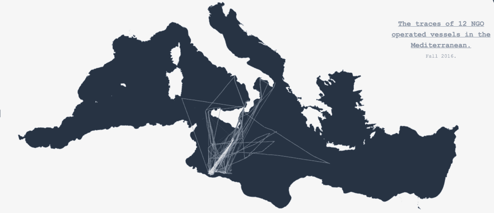 Using Big Data to Study Rescue Patterns in the Mediterranean 4
