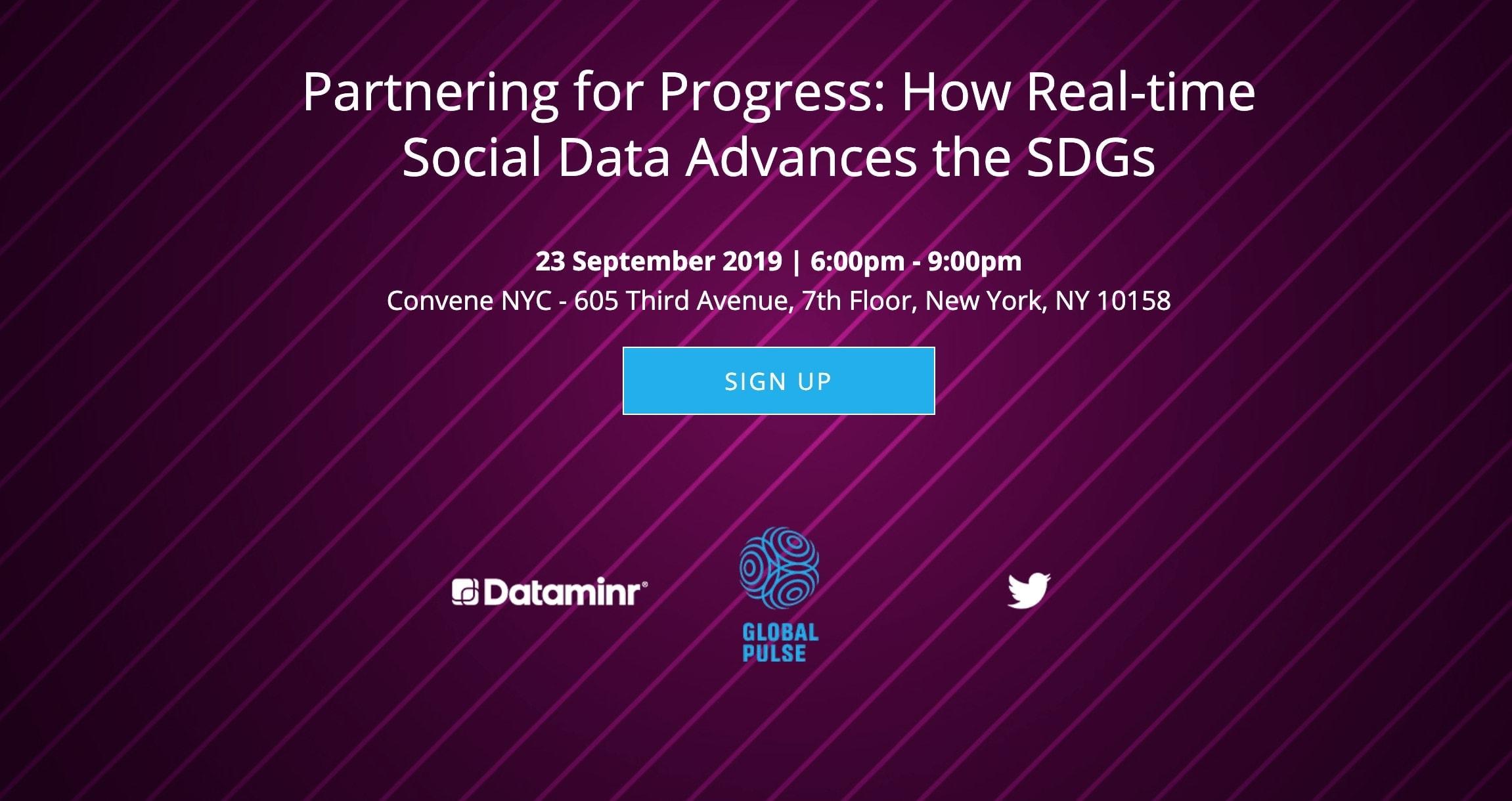 Partnering for progress flyer 2019