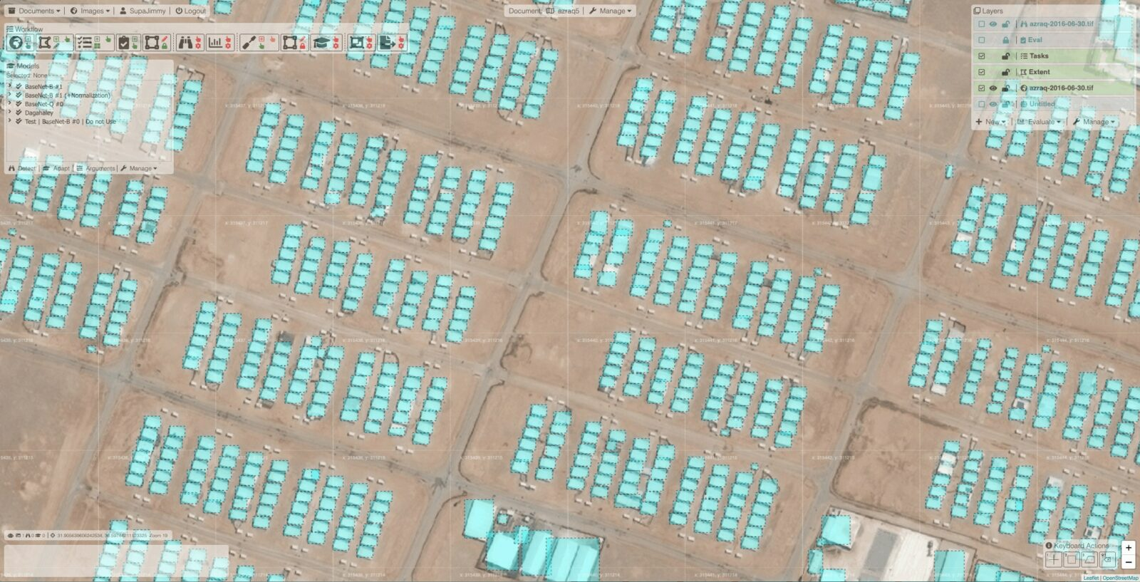 PulseSatellite: A collaboration tool using human-AI interaction to analyse satellite imagery 1