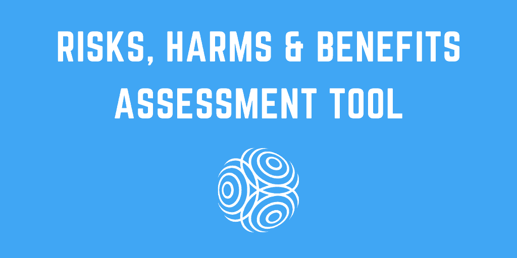 Risks, Harms and Benefits Assessment 1