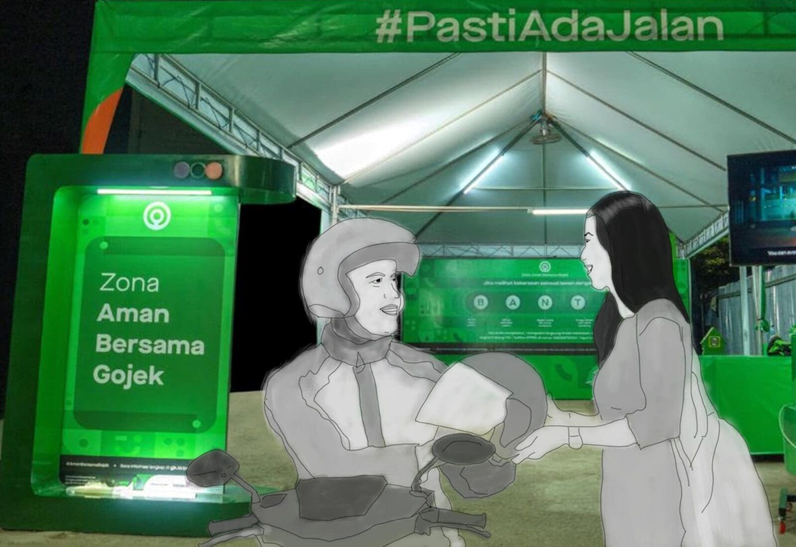 """Indonesian Super App Creates Safe Zones for Women in Transit Following Recommendations of """"After Dark"""" Research 7"""