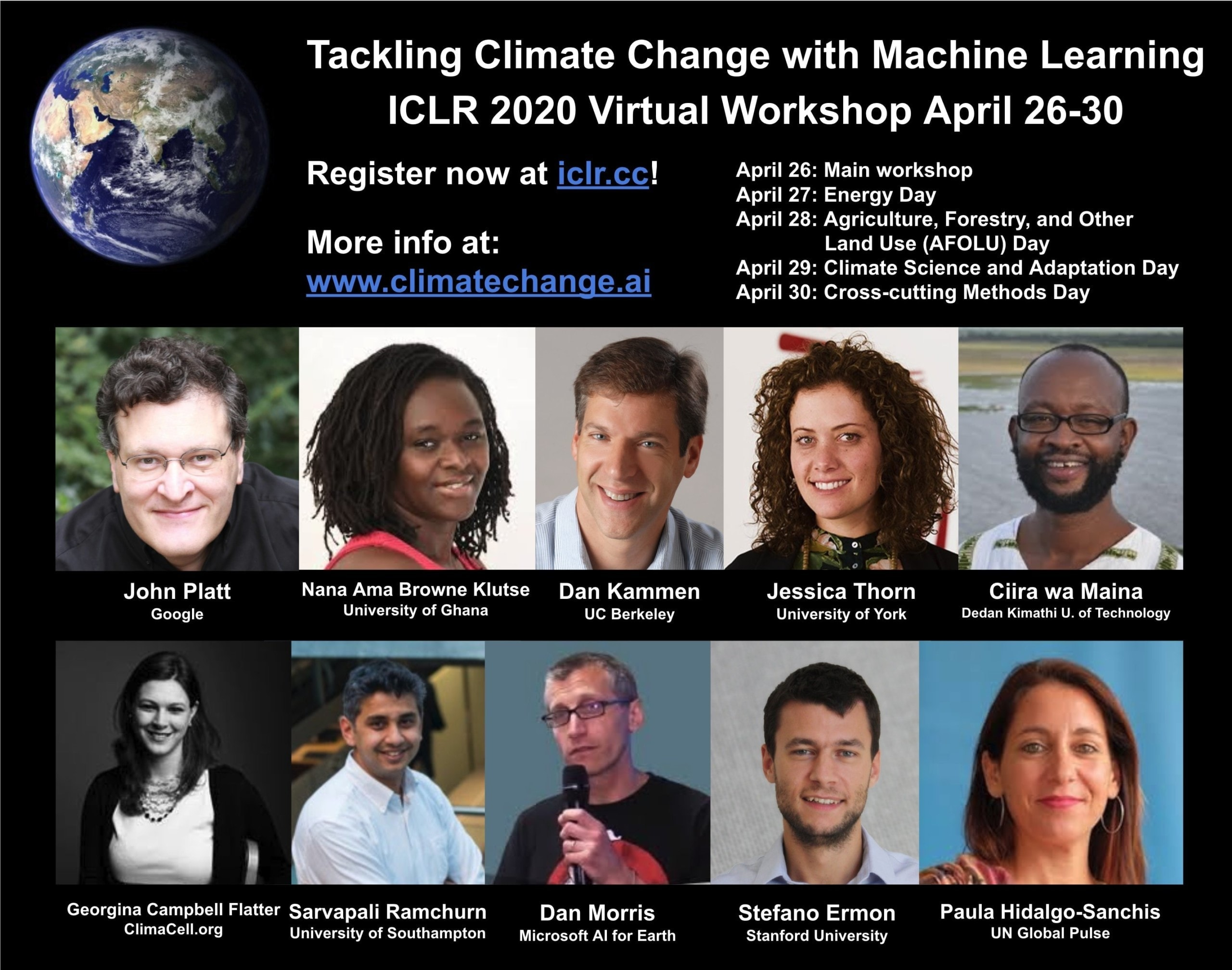 ICLR 2020 Workshop Tackling Climate Change with Machine Learning 1