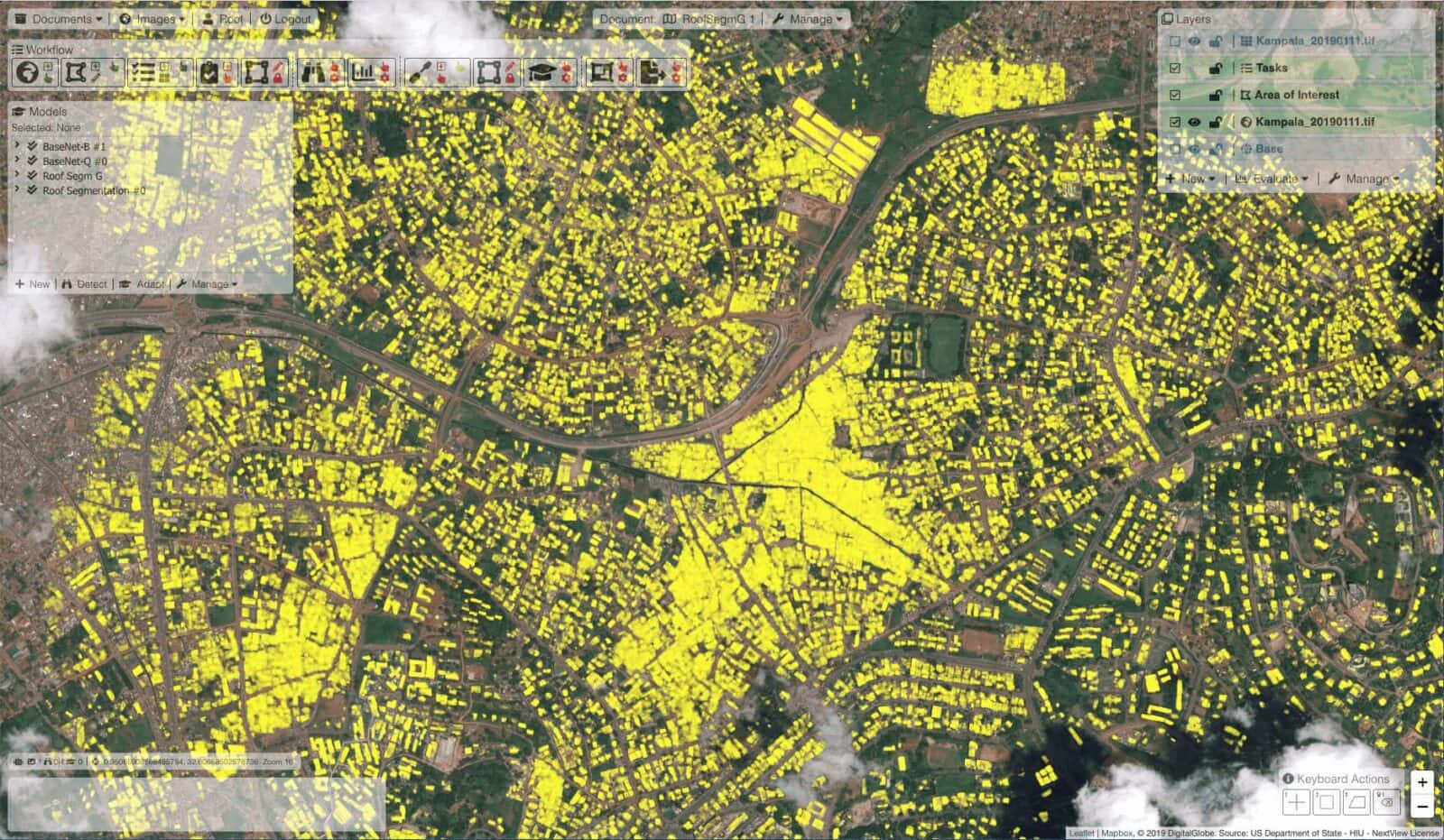 PulseSatellite: A collaboration tool using human-AI interaction to analyse satellite imagery 2