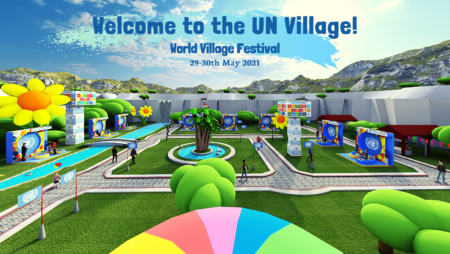 One UN Finland at the World Village Festival 2021 in Finland - with the UN Virtual Village
