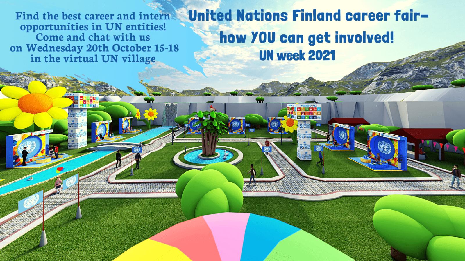 United Nations Finland virtual career fair 2
