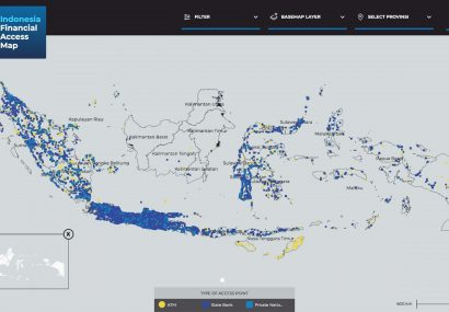 Indonesia Financial Access Map