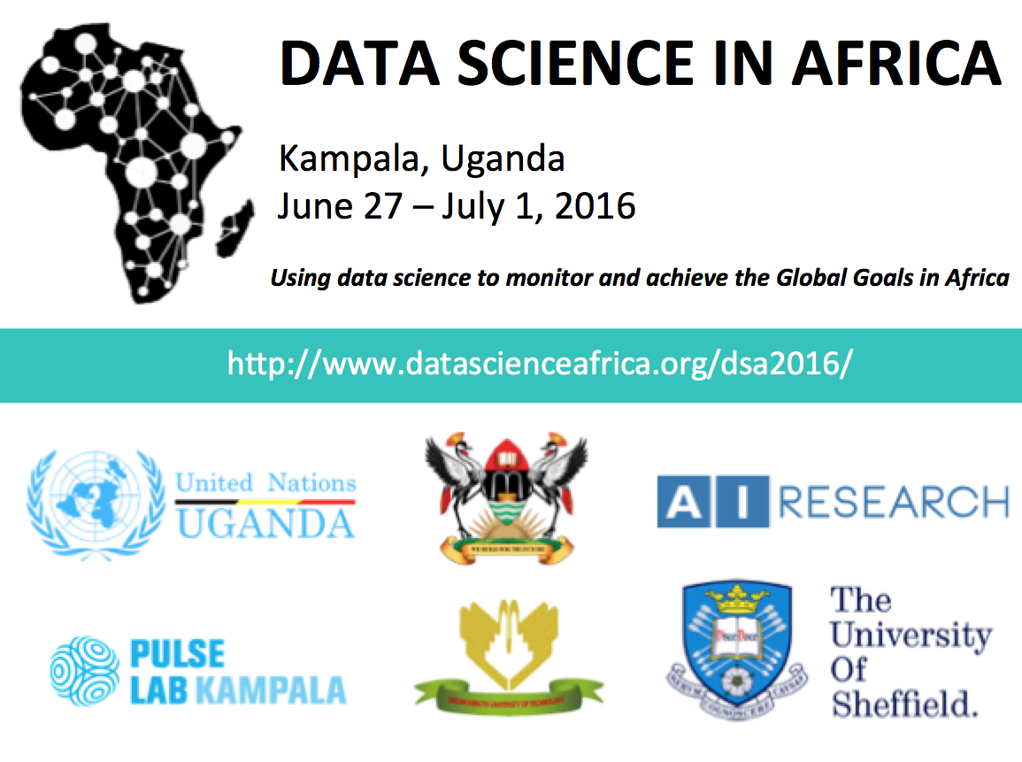 Data Science Africa Regional Conference 2016 1