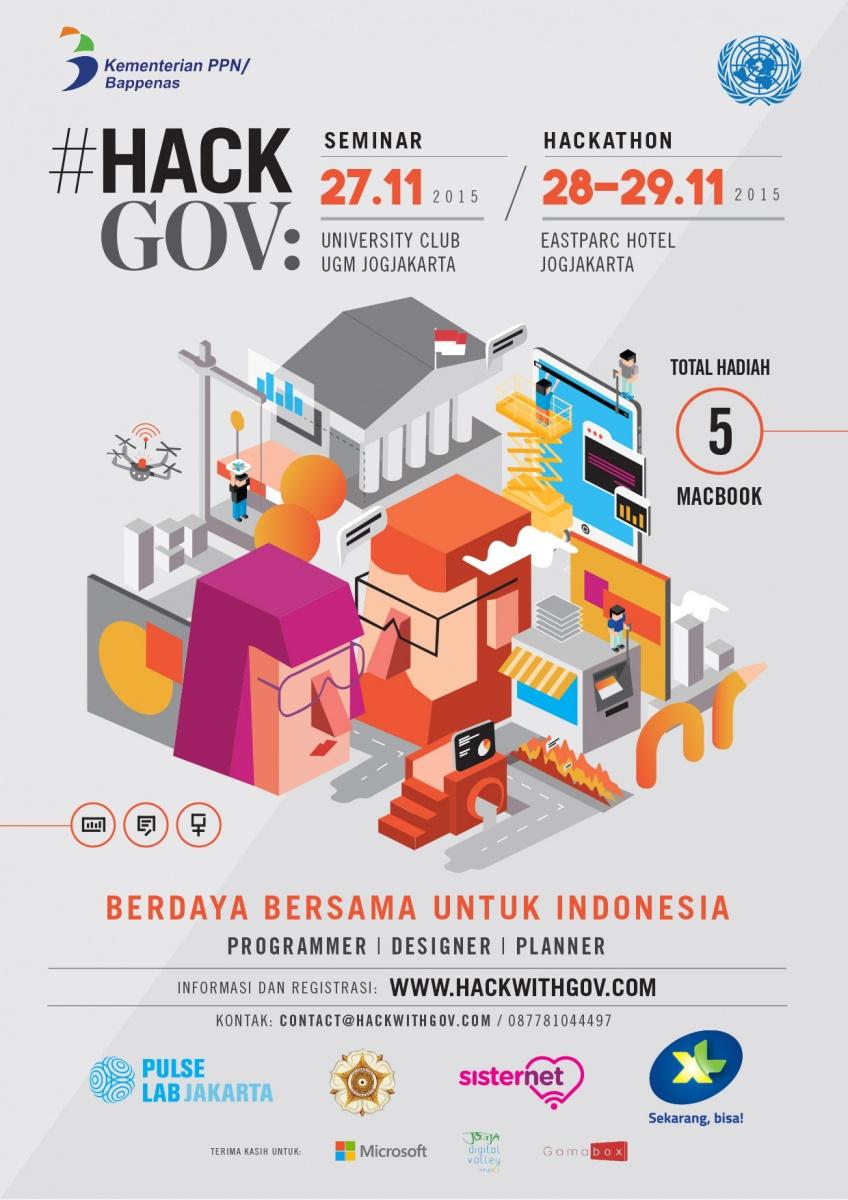 Hack-Gov Seminar and Hackathon Indonesia 1