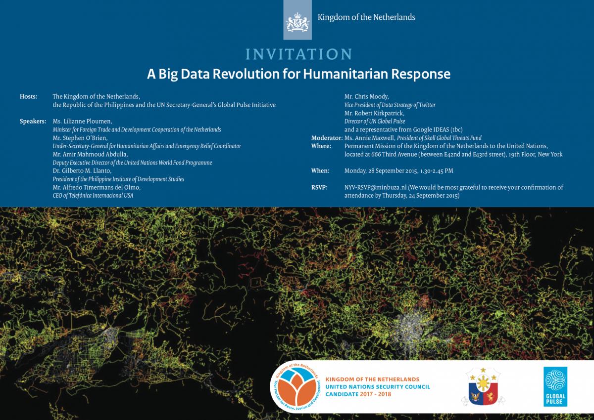 A Big Data Revolution for Humanitarian Response 1