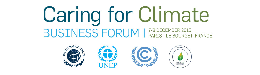 Big Data and Climate Change: Caring For Climate Business Forum 1