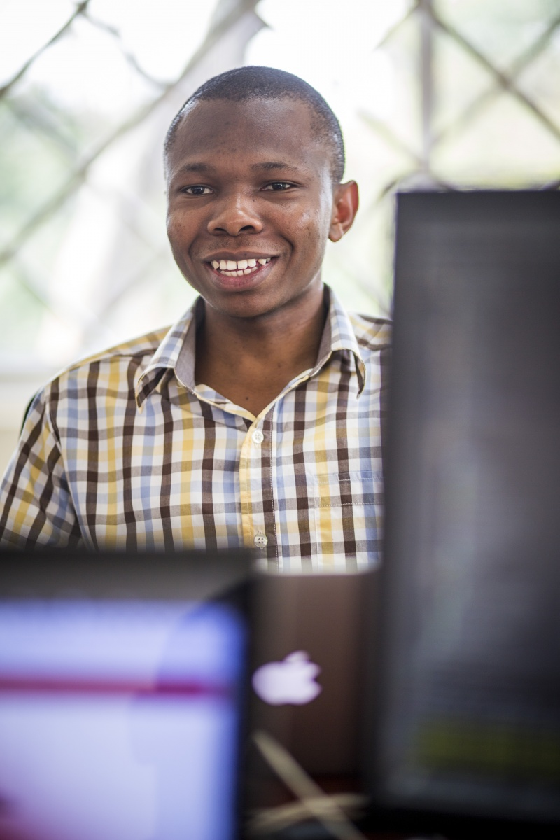 Fostering young talent: meet four bright minds working at the Pulse Lab in Uganda 3