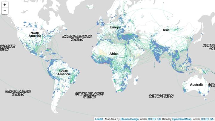 Big Data and International Migration 1