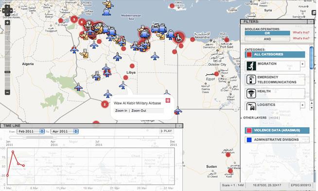 Crisismappers extend UN capacity in Libya 1